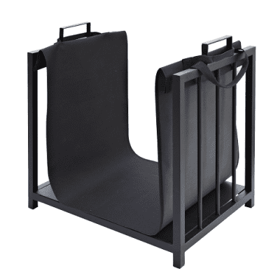 Manor Log Rack with Canvas Carry Bag 0321