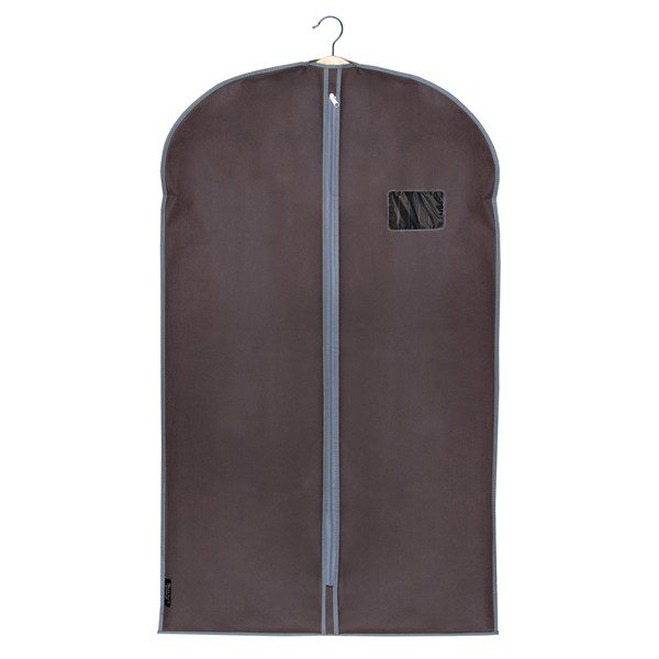 Domopak Living Non Woven Garment Suit Cover Bag - Plain Brown