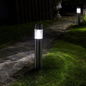 Smart Solar Super Bright Wave Bollard
