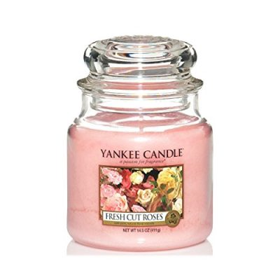 Yankee Small Jar Candle - Fresh Cut Roses