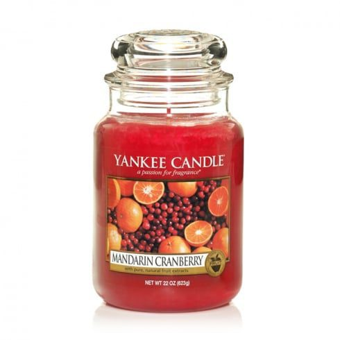 Yankee Large Jar Candle - Mandarin Cranberry
