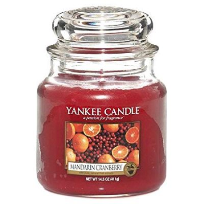 Yankee Medium Jar Candle - Mandarin Cranberry