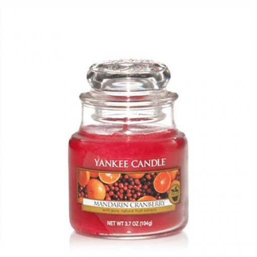 Yankee Small Jar Candle - Mandarin Cranberry