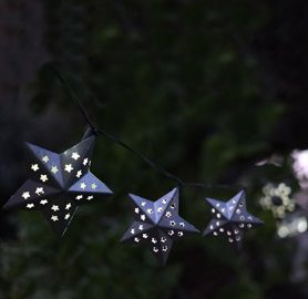 Smart Solar Stars String Lights