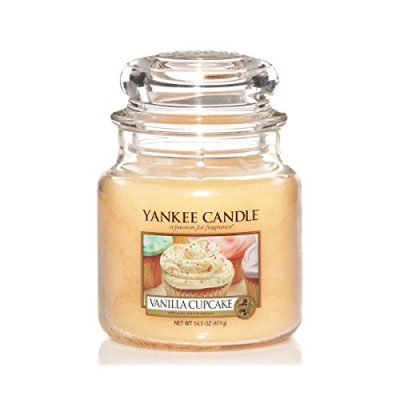 Yankee Medium Jar Candle - Vanilla Cupcake