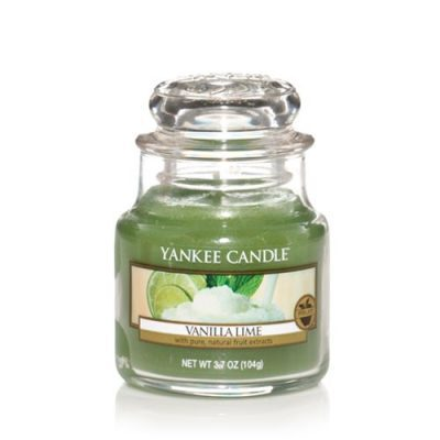 Yankee Small Jar Candle - Vanilla Lime