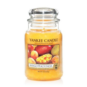 Yankee Large Jar Candle - Mango Peach Salsa