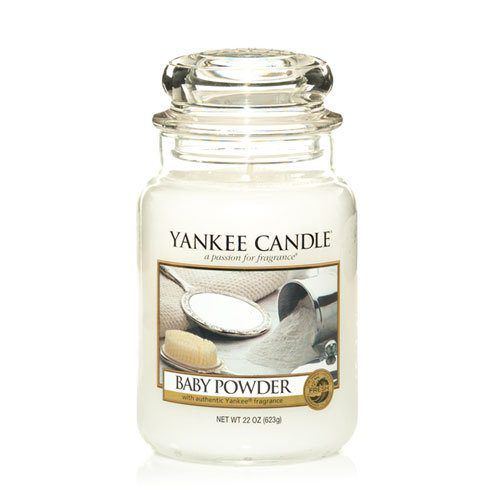 Yankee Large Jar Candle - Baby Powder