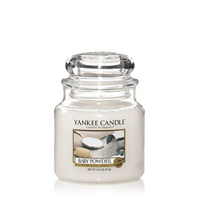 Yankee Small Jar Candle - Baby Powder