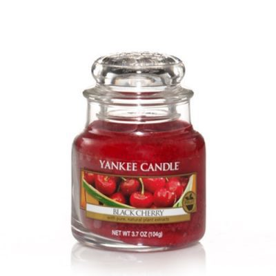 Yankee Small Jar Candle - Black Cherry