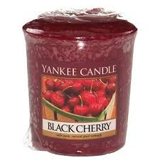 Yankee Votive Candle - Black Cherry