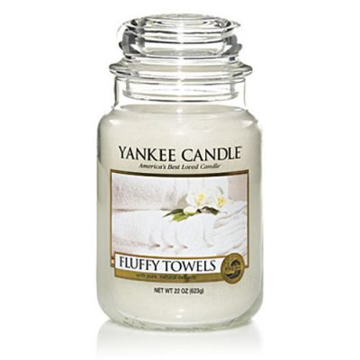 Yankee Large Jar Candle - Fluffy Towels