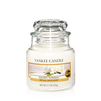 Yankee Small Jar Candle - Fluffy Towels