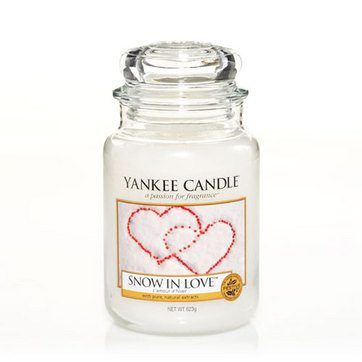 Yankee Large Jar Candle - Snow In Love