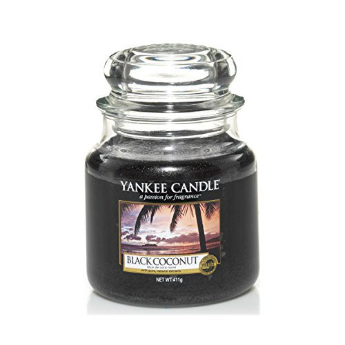 Yankee Medium Jar Candle - Black Coconut