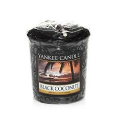 Yankee Votive Candle - Black Coconut