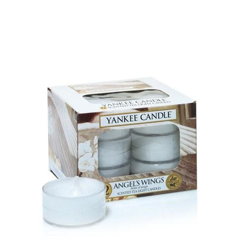 Yankee Scented Tea Light Candles - Angel's Wings