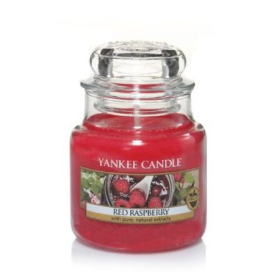 Yankee Small Jar Candle - Red Raspberry