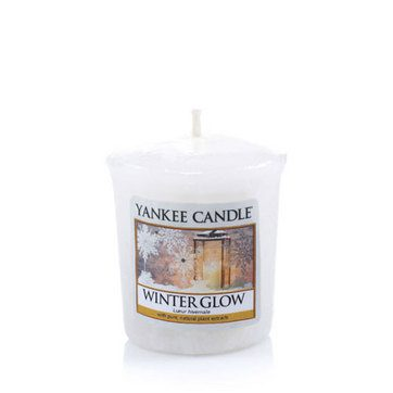 Yankee Votive Candle - Winter Glow
