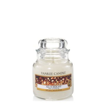 Yankee Small Jar Candle - All is Bright