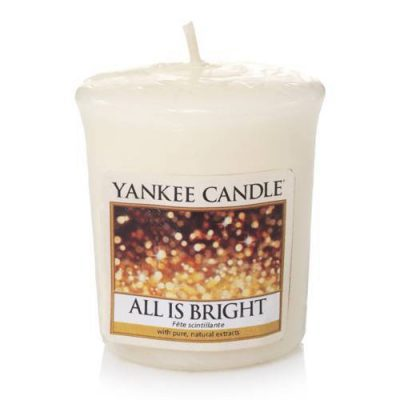 Yankee Votive Candle - All is Bright