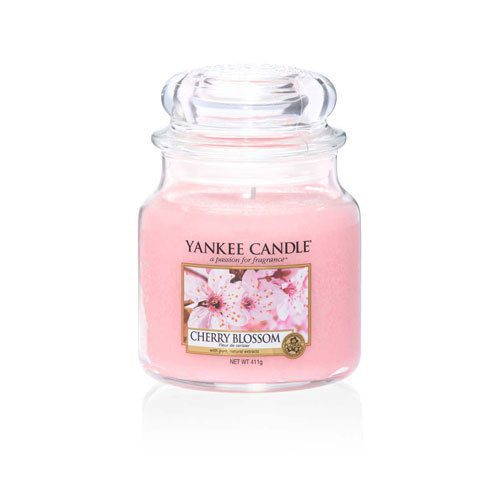 Yankee Medium Jar Candle - Cherry Blossom