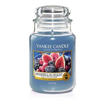 Yankee Large Jar Candle - Mulberry & Fig Delight