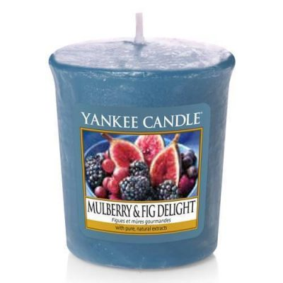 Yankee Votive Candle - Mulberry & Fig Delight