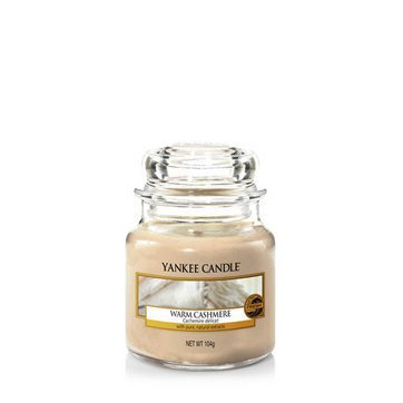Yankee Small Jar Candle - Warm Cashmere