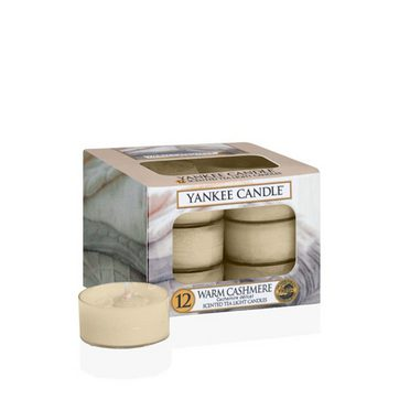 Yankee Scented Tea Light Candles - Warm Cashmere