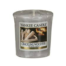 Yankee Votive Candle - Crackling Wood Fire