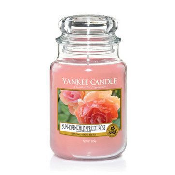 Yankee Large Jar Candle - Sun-Drenched Apricot Rose