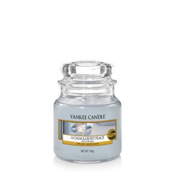 Yankee Small Jar Candle - A Calm & Quiet Place