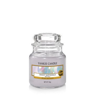 Yankee Small Jar Candle - Sweet Nothings