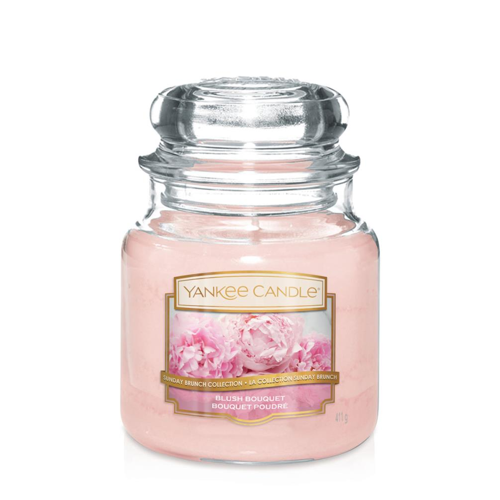 Yankee Medium Jar Candle - Blush Bouquet