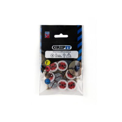 GRIP-IT 18mm Red Pack of 8