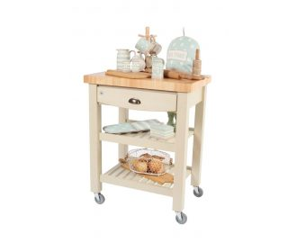 T&G Pembroke Trolley Hevea Top