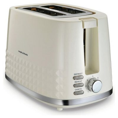 Morphy Richards Dimensions 2 Slice Toaster Cream