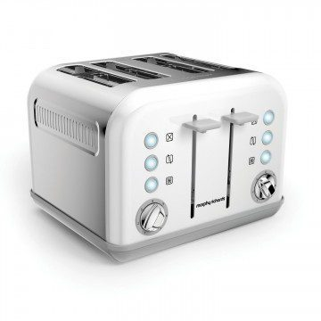 Morphy Richards Accents 4 Slice EPP Toaster White