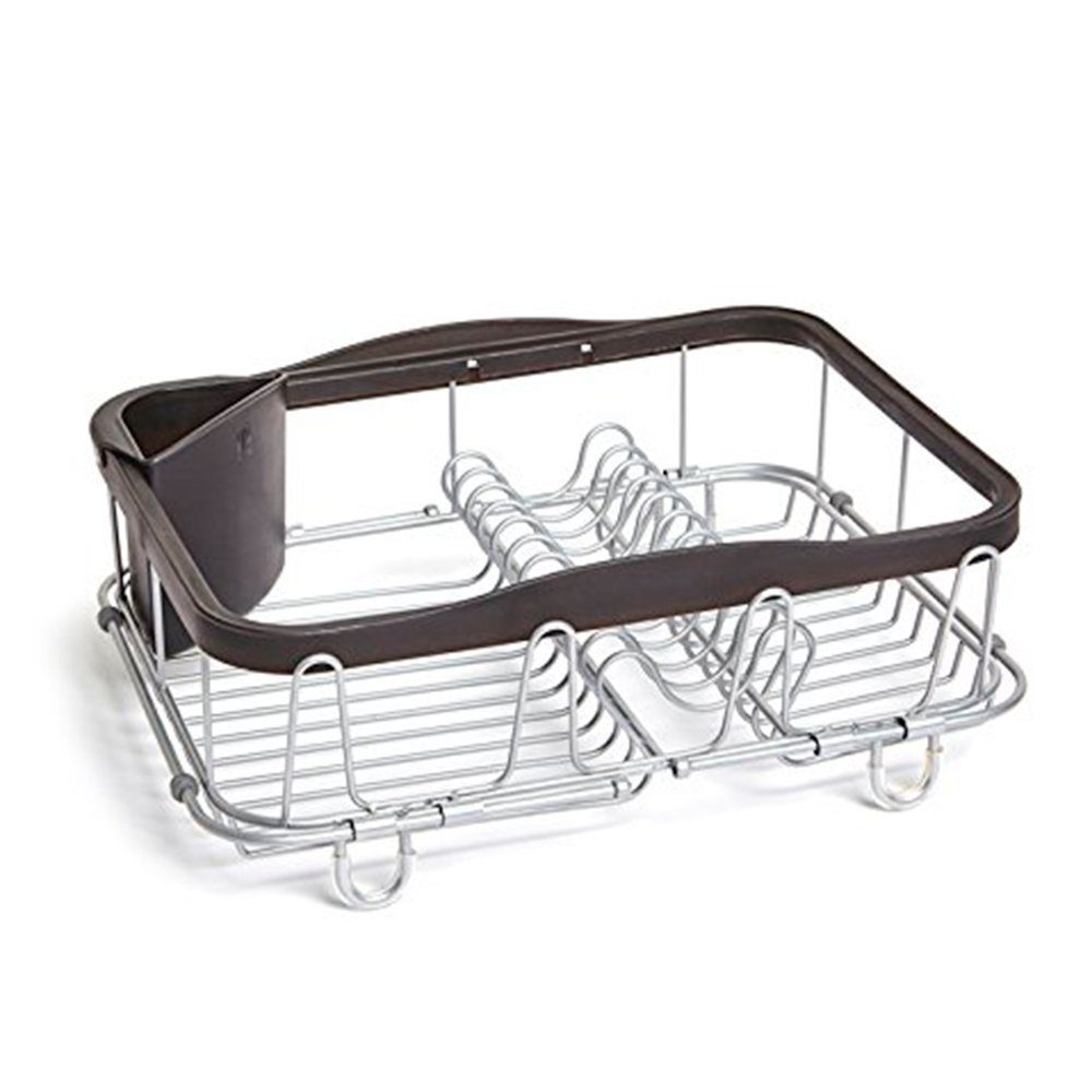 Umbra Sinkin Multi-Use Dish Rack - Black/Nickel