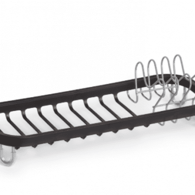 Umbra Sinkin Mini Dish Rack - Black