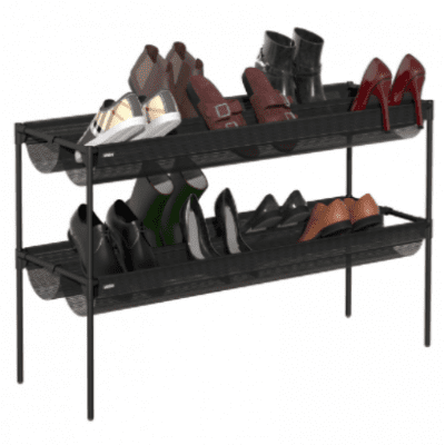 Umbra Sling Shoe Rack - Charcoal