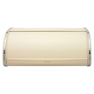 Brabantia Roll Top Bread Bin - Almond