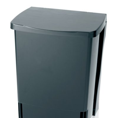 Brabantia Build In Kitchen Bin Black 10ltr