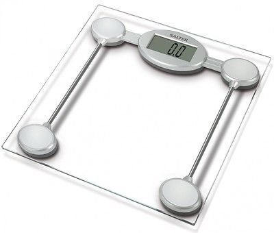 Salter Digital Bathroom Scales - Glass Electronic Weight Scales