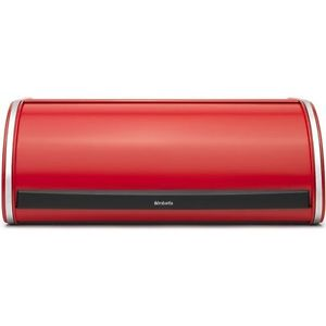 Brabantia Roll Top Bread Bin - Passion Red