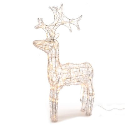 Kaemingk Outdoor LED Acrylic Deer 60cm Warm White