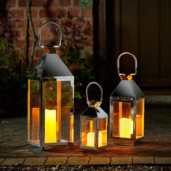 Smart Garden Stockholm Lanterns Set of 3
