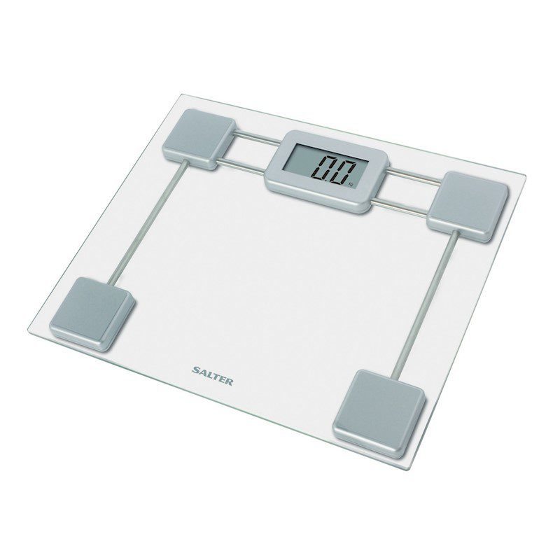 Salter Compact Glass Digital Bathroom Scale