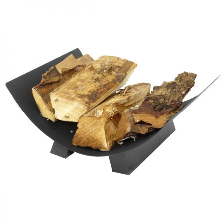 Manor Crescent Log Tray - Black